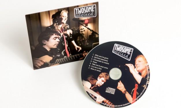 Promotion-CD für Jazz-Duo