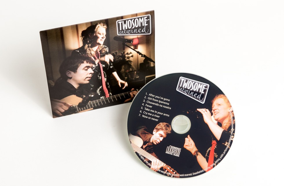 Promotion-CD für Jazz-Duo