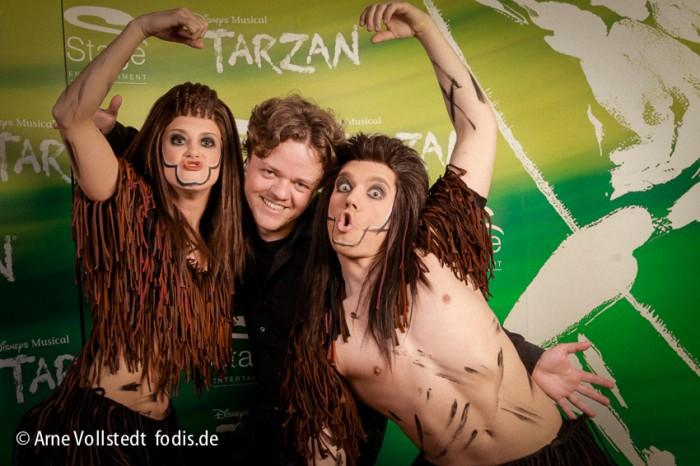 Arne-Vollstedt der Fotograf am Tarzan-Day in Hamburg