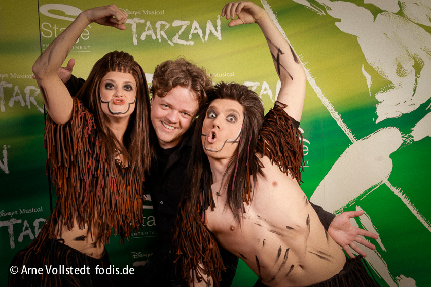Photo Booth bei Tarzan Musical Hamburg