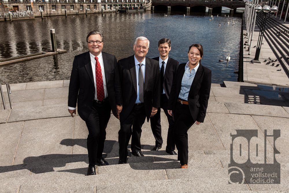 Business Portrait Teamfoto von Martens & Partner