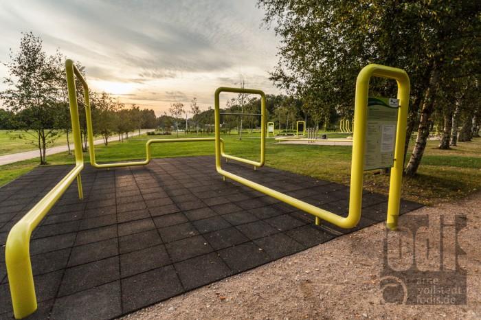 Bewegung im Stadtpark Norderstedt