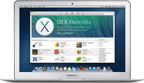 OS X Mavericks auf einem USB-Stick
