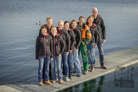 Teamfoto im Stadtpark Norderstedt
