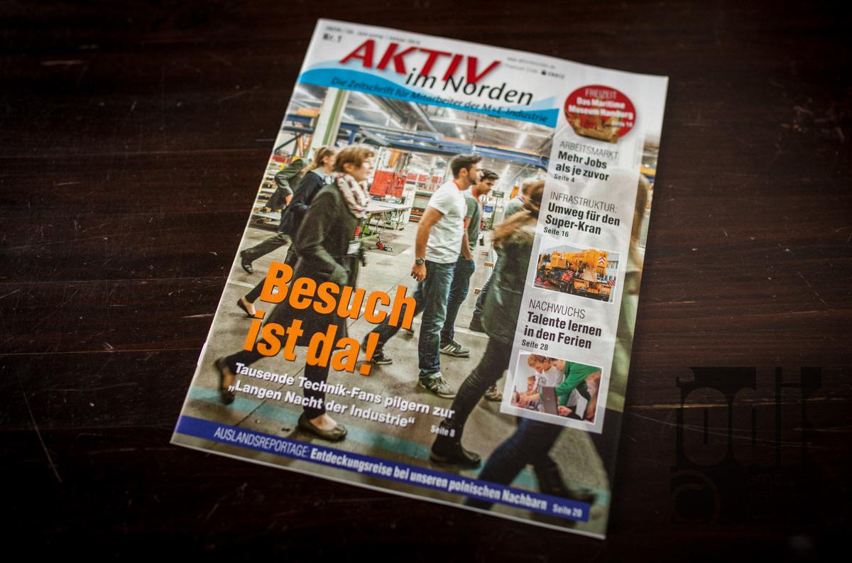 Cover Aktiv im Norden