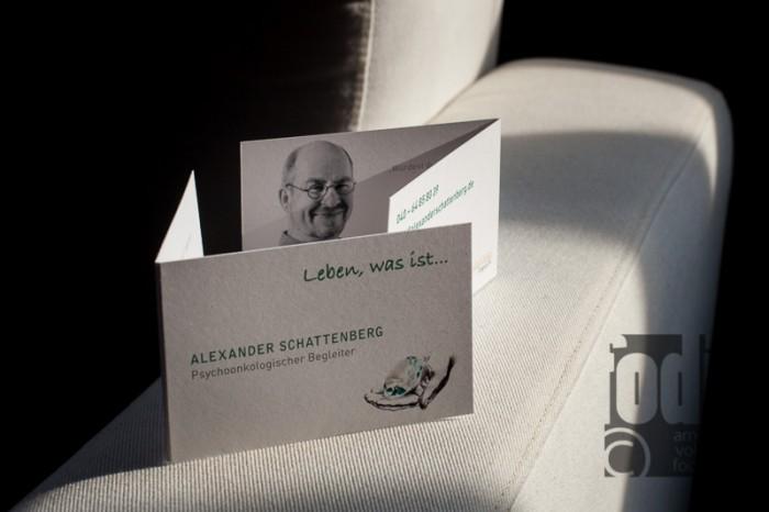 Klappkarte Alexander Schattenberg