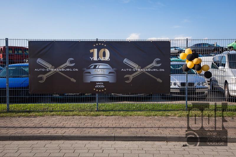 Zehn Jahre Auto Strassburg