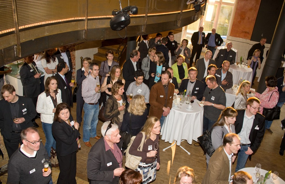 Xing Live Networking in der Zinos-Lounge