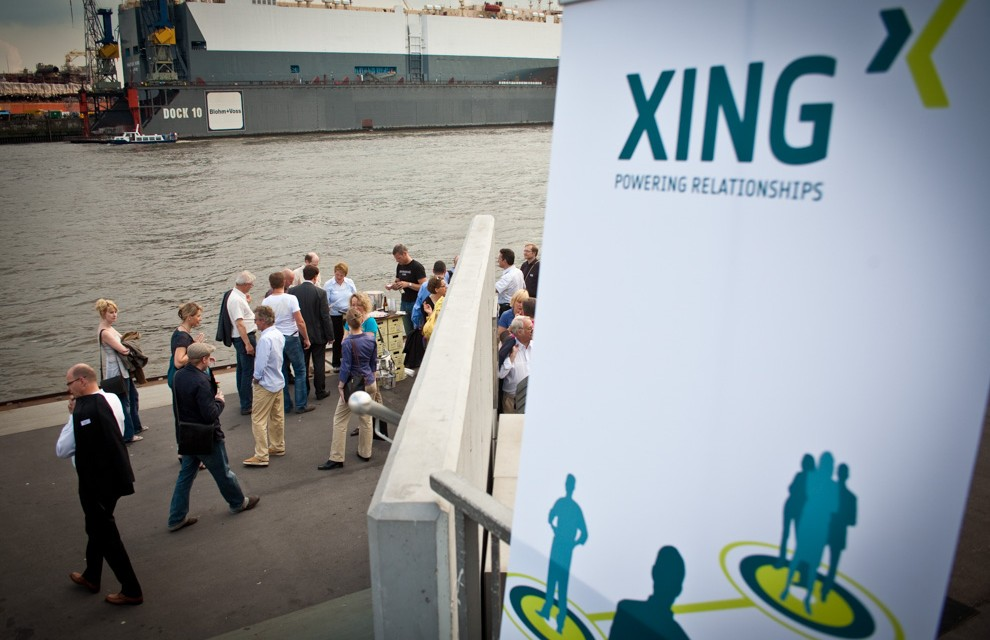 Xing Networking auf Elbinseltour