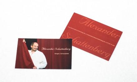 Visitenkarte für Alexander Schattenberg