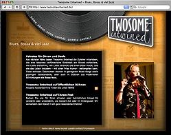 Internetseite für Twosome Entwined